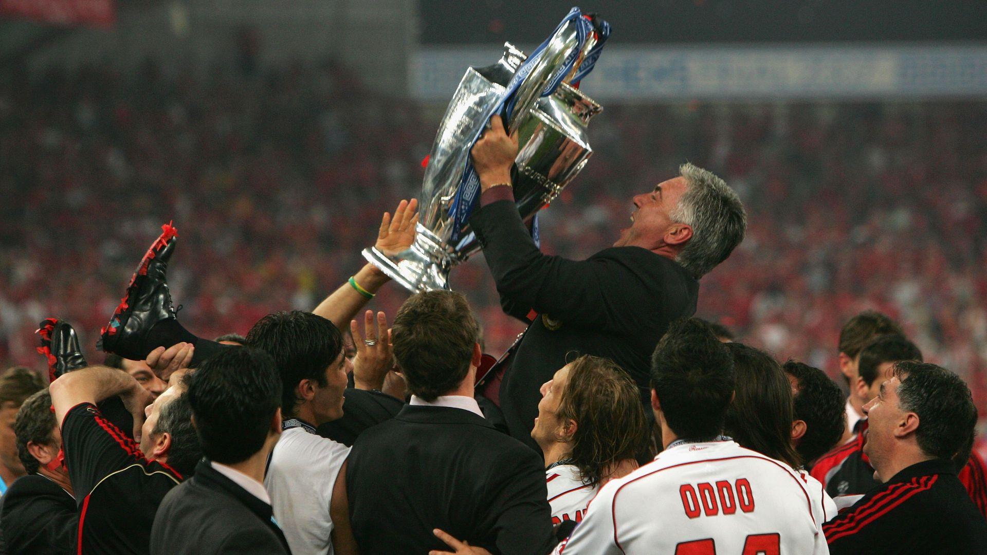 Carlo Ancelotti - Milan Liverpool