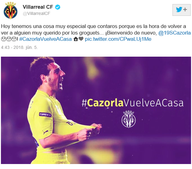 Santi Cazorla Villarreal