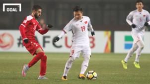 U23 Việt Nam vs U23 Syria, Quang Hải