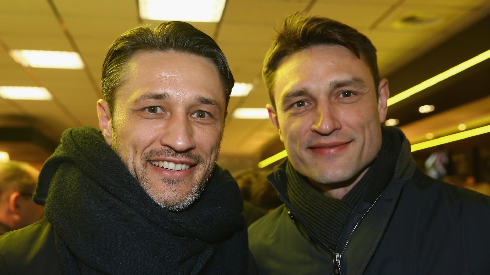 Niko and Robert Kovac, Eintracht Frankfurt