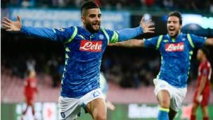 Insigne Napoli Liverpool Champions League