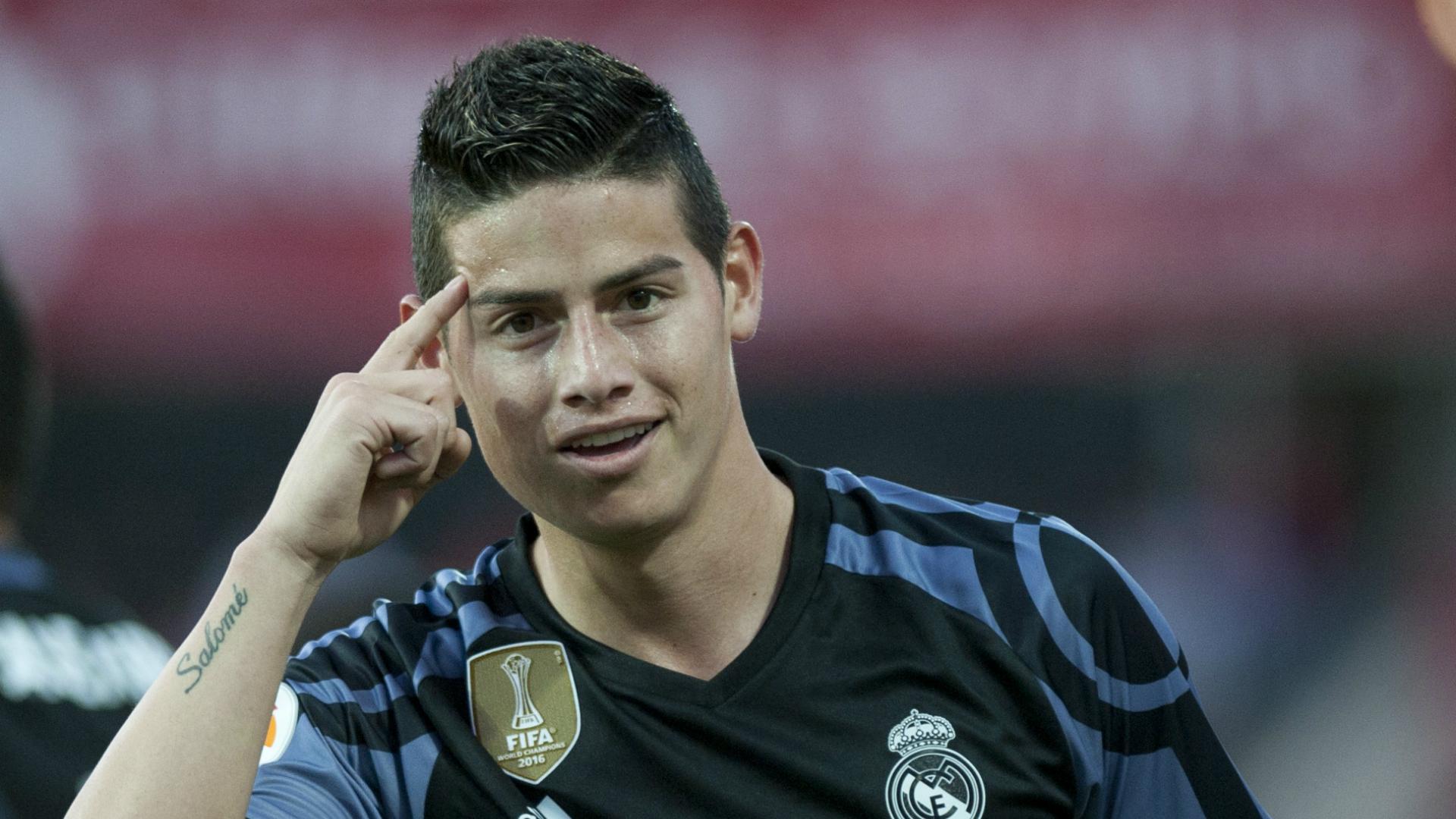 James Rodriguez Real Madrid Granada LaLiga 06052017