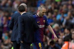 Andres Iniesta Barcelona Atletico LaLiga