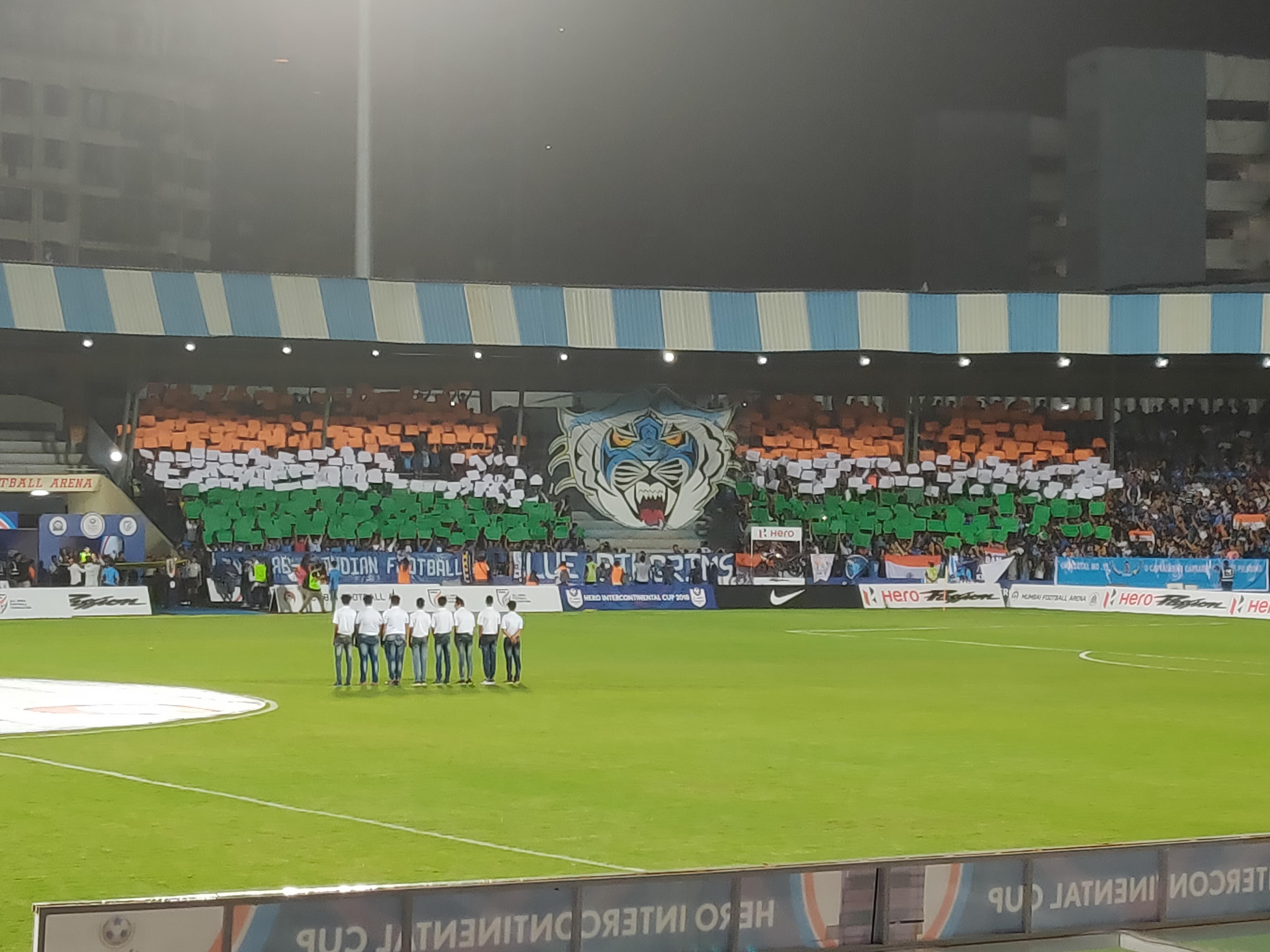 Team India tifo