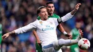 Sergio Ramos Real Madrid Leganes Copa del Rey 24012018