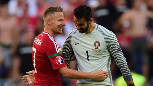 Balazs Dzsudzsak, Rui Patricio, Hungary vs Portugal, Euro 2016