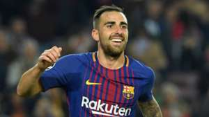 Paco Alcacer Barcelona 2017-18
