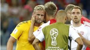 Kasper Schmeichel Eriksen Croatia Denmark World Cup 01072018