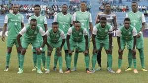 Gor Mahia squad v Thika United.