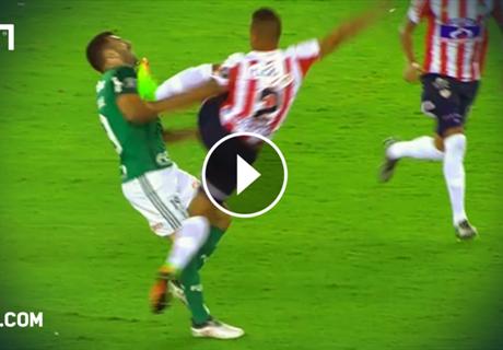 Copa Libertadores: Kung-Fu a la Nigel de Jong