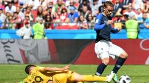 Josh Risdon Australia Antoine Griezmann France World Cup 2018