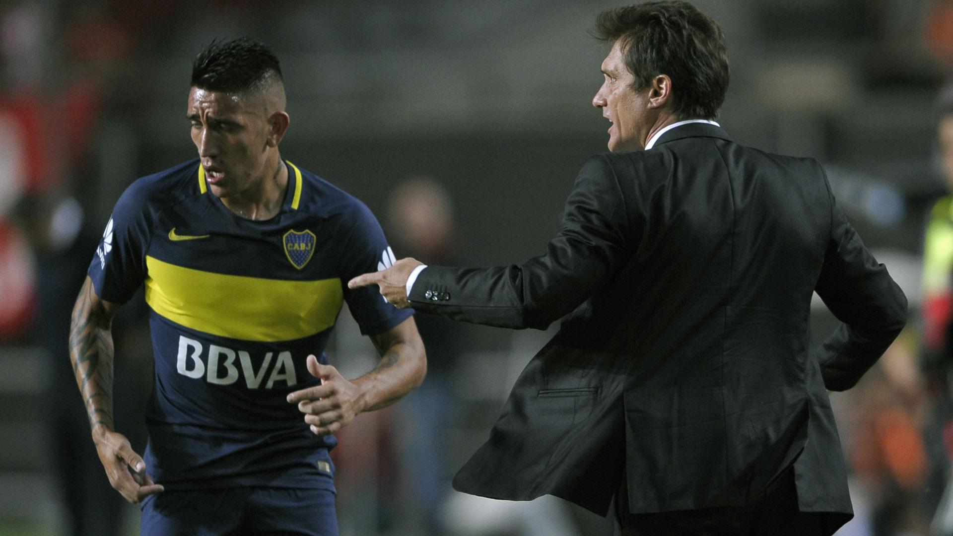 Estudiantes Boca Ricardo Centurion Guillermo Barros Schelotto 060517