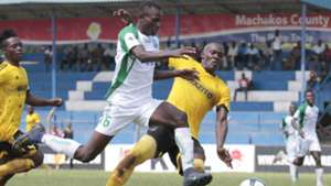 SAMUEL ONYANGO of Gor Mahia v MARK ODHIAMBO of Wazito.