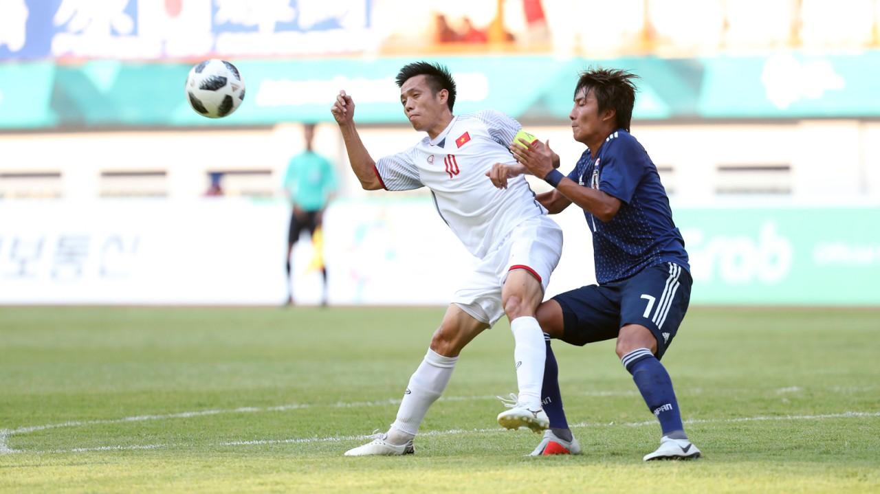 Vietnam U-23 vs Jepang U-23 - Asian Games 2018