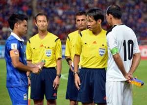 ทีมชาติไทย - อิรัก