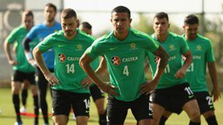 Socceroos camp