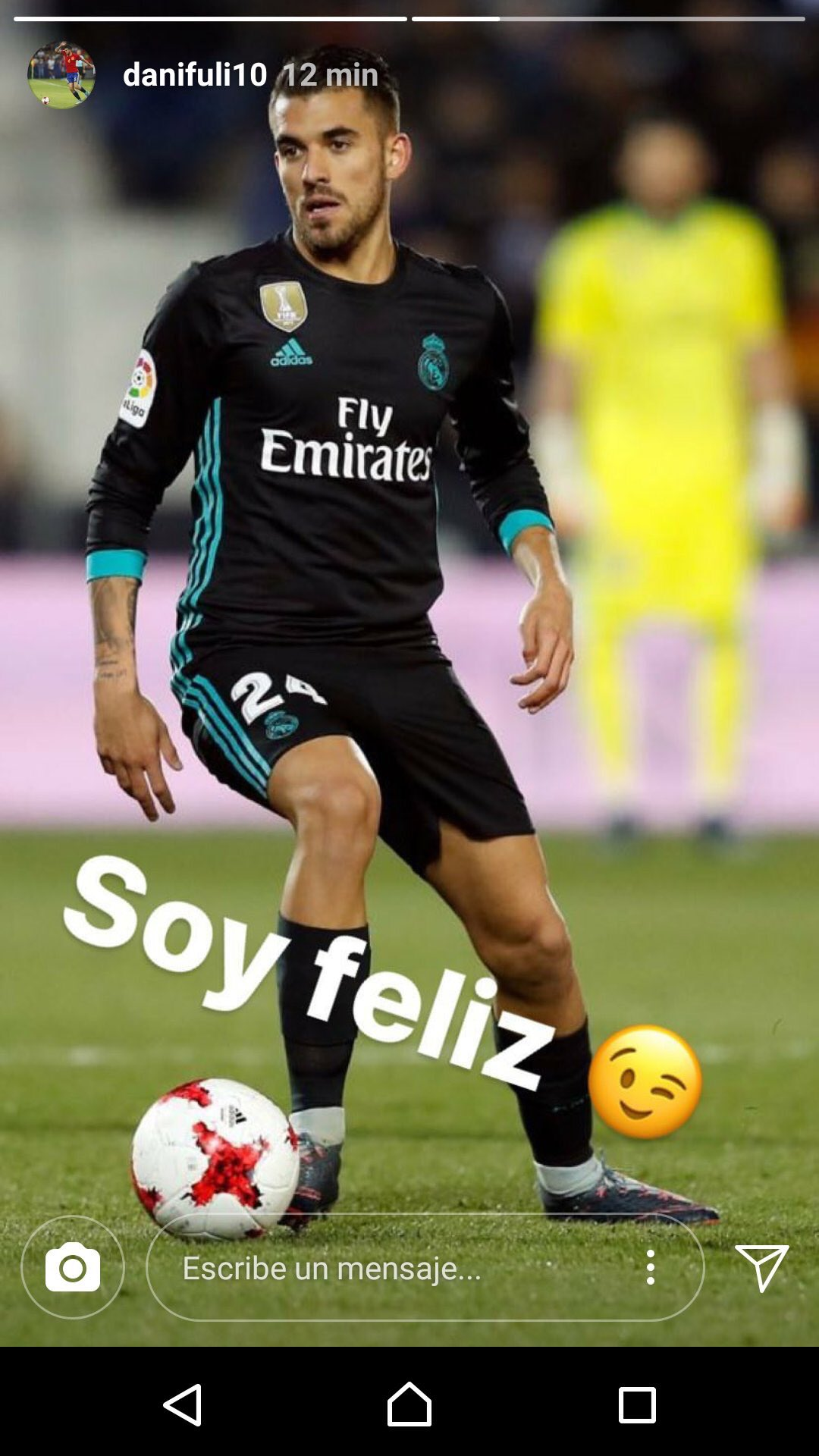 Dani Ceballos Real Madrid