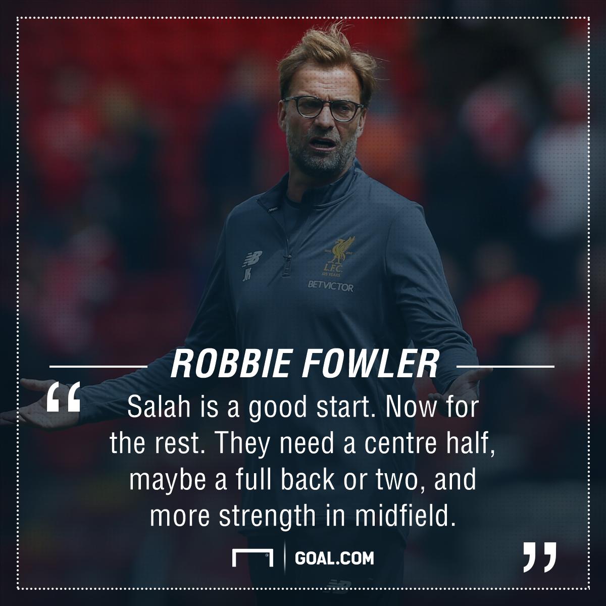 Robbie Fowler Liverpool signings