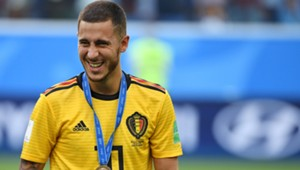 Eden Hazard Croatia World Cup play-off 14072018