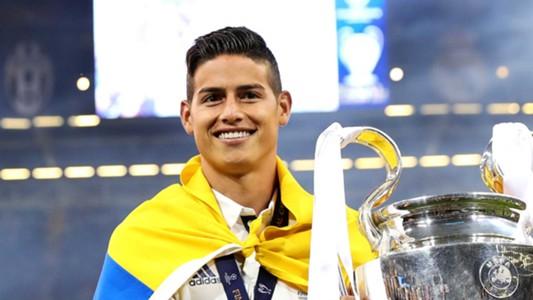 2017-07-11-Real Madrid-James Rodriguez