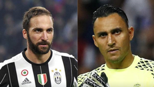 CL Final Higuain vs Keylor