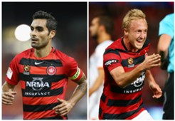 Dimas Mitch Nichols Western Sydney Wanderers A-League