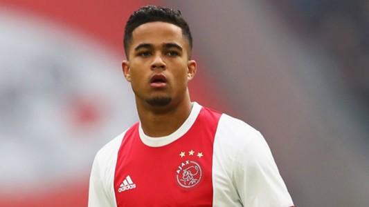 Justin Kluivert Ajax 2017-18