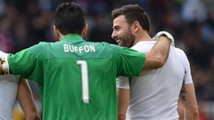 Buffon Barzagli Juventus