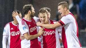 Frenkie De Jong Daley Blind Matthijs de Ligt Ajax