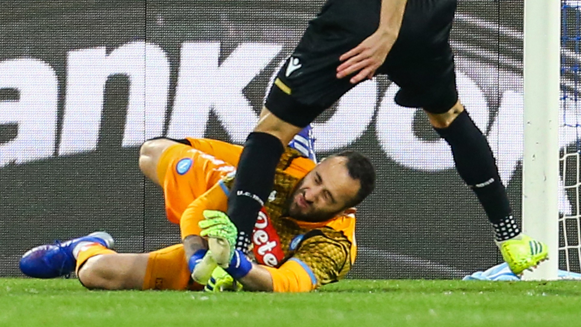 Pussetto Ospina - Napoli Udinese