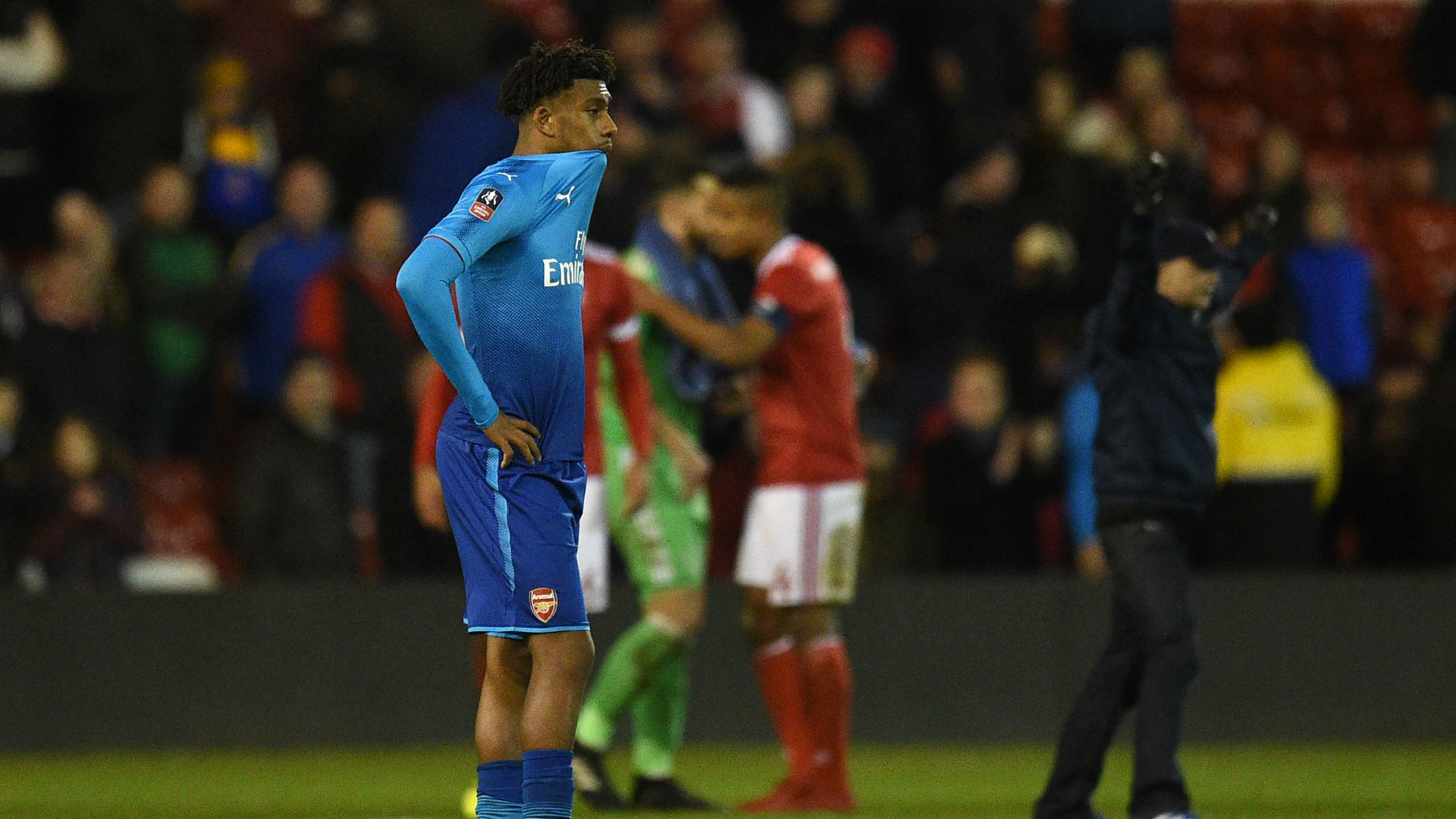 Iwobi faces Wenger's axe if found guilty of partying overnight