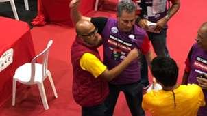 Jose Carlos Peruano e Rodolfo Landim Flamengo eleição 08 12 18