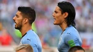 Luis Suarez Edinson Cavani Uruguay World Cup 2018