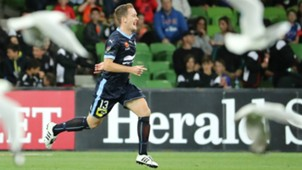 Brandon O'Neill Melbourne City v Sydney FC A-League 24022017
