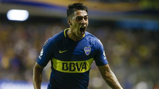 Cristian Pavon Boca Junior Copa Libertadores Fecha 2 Grupo H 4042018
