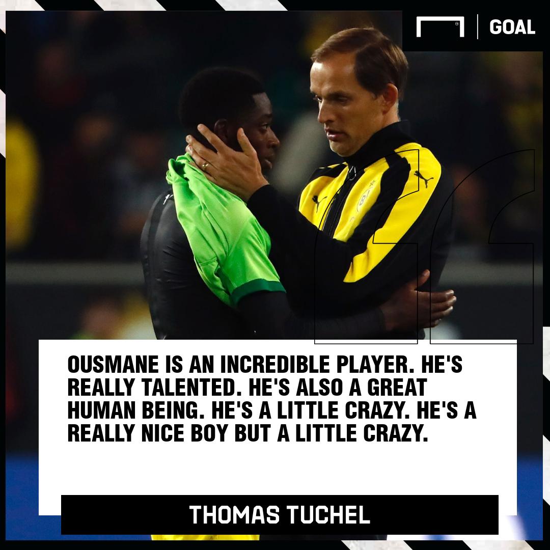 Ousmane Dembele Thomas Tuchel Dortmund PS