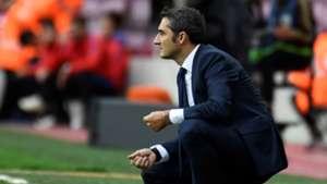 Ernesto Valverde Barcelona Las Palmas LaLiga 01102017