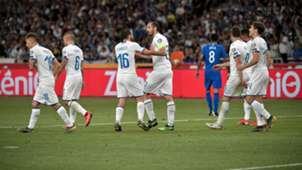 Italy celebrating Greece 2019