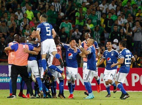 Millonarios campeón de la Supoerliga Águila 2018
