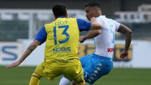Allan Chievo Napoli Serie A 19022017