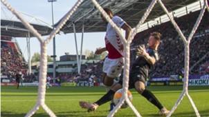 Cyriel Dessers, Indy Groothuizen, FC Utrecht - ADO, 11042018