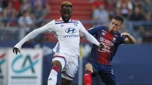 Frederic Guilbert Moussa Dembele Caen Lyon Ligue 1 15092018