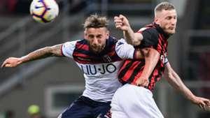 Milan Bologna Serie A