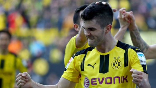 Christian Pulisic Borussia Dortmund Bundesliga 030417