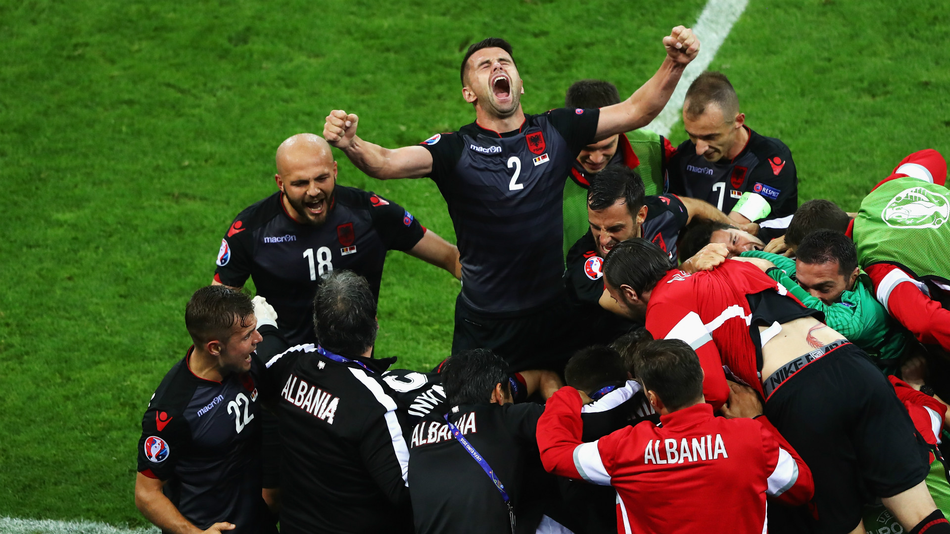 Romania v Albania 190616
