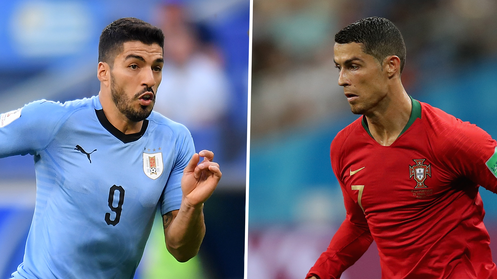 Cristiano Ronaldo struggles in the face of Uruguay's Madrid centric defence