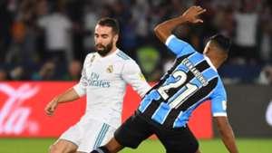 Dani Carvajal Fernandinho Real Madrid Gremio Club World Cup 16122017