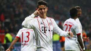 James Rodriguez FC Bayern 12012018