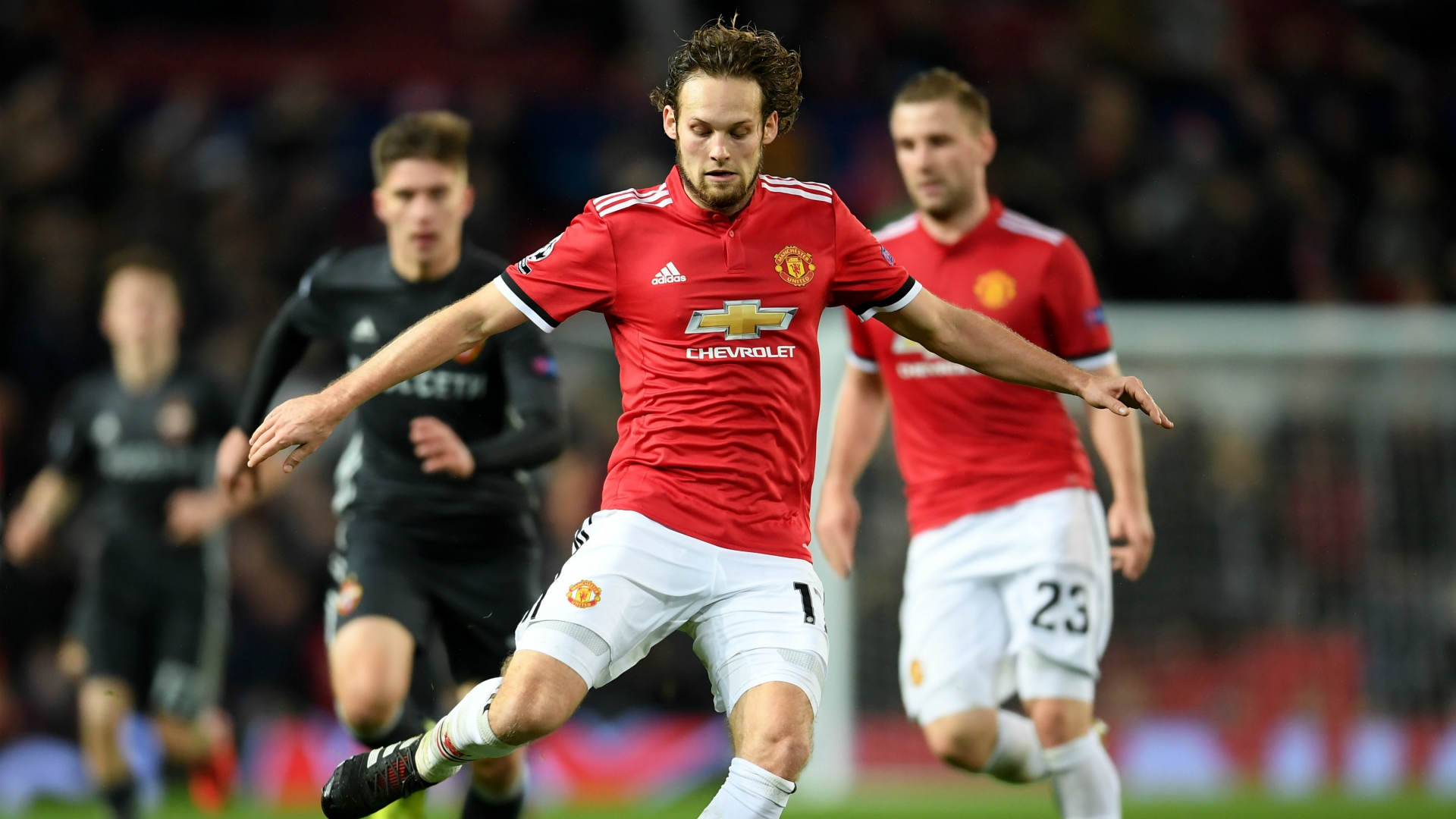 Daley Blind Manchester United CSKA Moskva UEFA Champions League 12052017