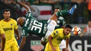 Felipe Melo Emanuel Reynoso Palmeiras Boca 11042018 Copa Libertadores